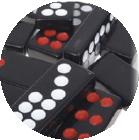 牌九屬於中國傳統骨牌遊戲